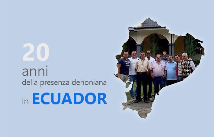 20 anos de presença dehoniana no Equador