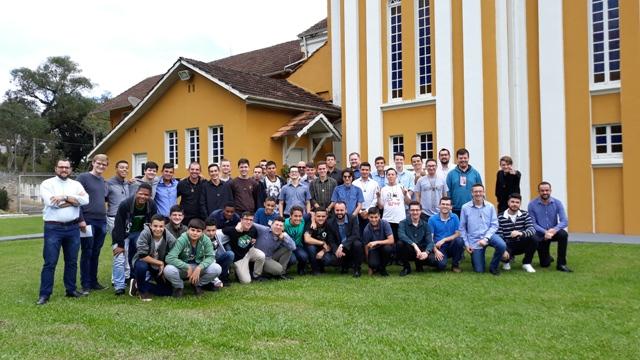 Encontro Vocacional no Seminário São José